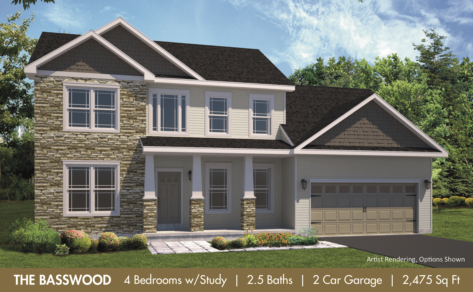 The Basswood Render300